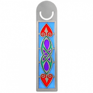 Celtic Coloured Spear Bookmark